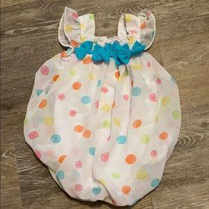 Baby essentials girls six month onesie